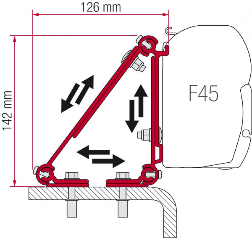 fiamma bike cover fitting instructions